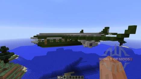 Military aircraft para Minecraft