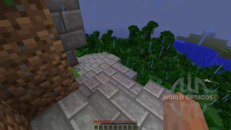Jungle Mountain House para Minecraft
