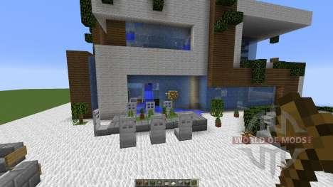 MODERN HOUSE SD 2 para Minecraft