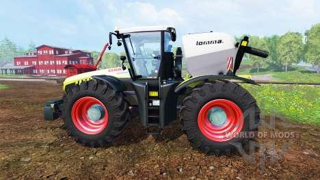 CLAAS Xerion 4500 v1.5 para Farming Simulator 2015
