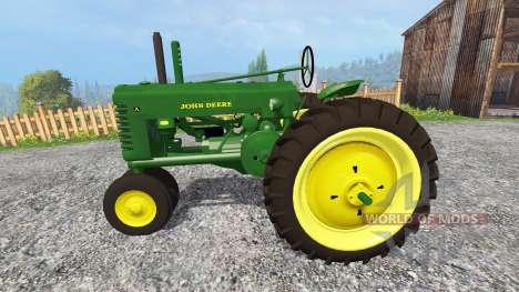 John Deere Model A [update] para Farming Simulator 2015