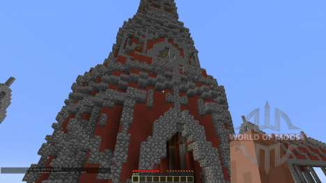 Fly Red Tower para Minecraft