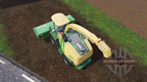 Krone Big X 1100 [inluding cutters] v1.1 para Farming Simulator 2015