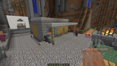 Nebelheim The mountain village para Minecraft
