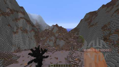 Wasteland of the dragons para Minecraft