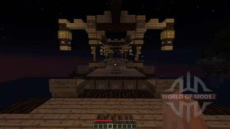 Aurora Roller Coaster para Minecraft