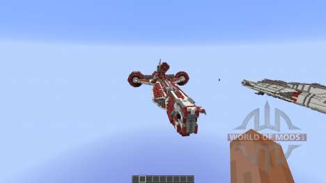 Star Wars Galactic Republic ConsularClass Cruis para Minecraft