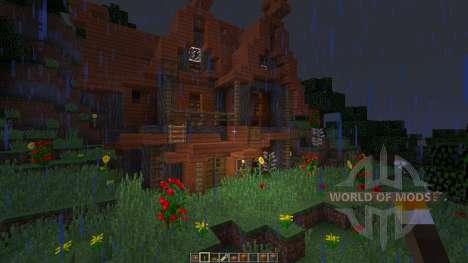 Acacia House para Minecraft