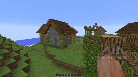 Broken tower island para Minecraft