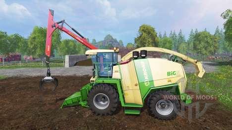 Krone Big X 1100 [crusher] v2.0 para Farming Simulator 2015