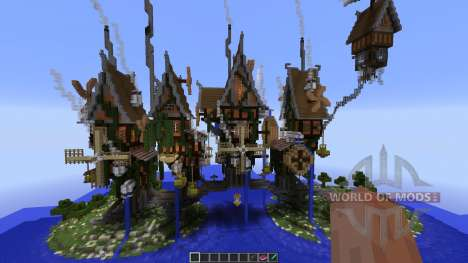 Steamshire Bridge Line para Minecraft