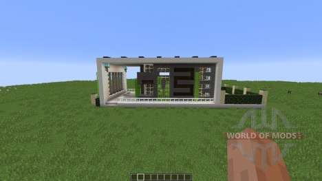 Contrast A Minimal Modern Home para Minecraft