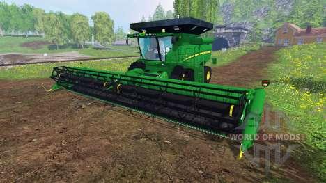 John Deere S 690i v1.0 para Farming Simulator 2015