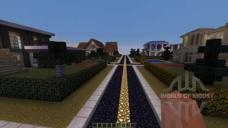 Village of Modern Houses para Minecraft