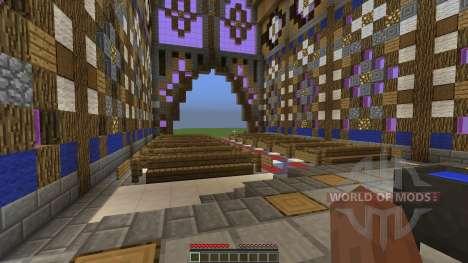 FlatWorld Cathedral para Minecraft