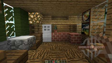 Bee Builds House on the Lake para Minecraft