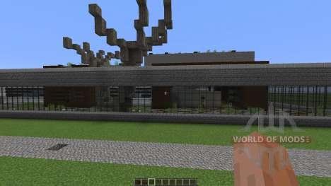 E A Modern Mansion para Minecraft