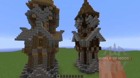 Medieval Tower Assorted Wood Variants para Minecraft