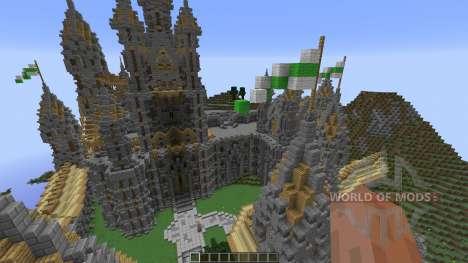 Kingdom of Cial A server spawn para Minecraft