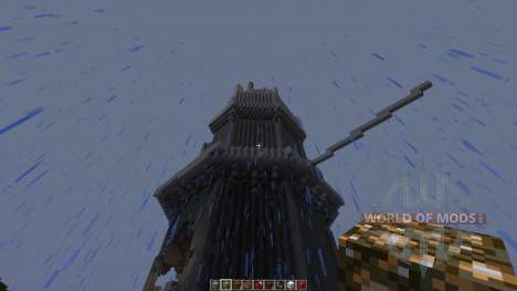 A dragon attack an old tower para Minecraft