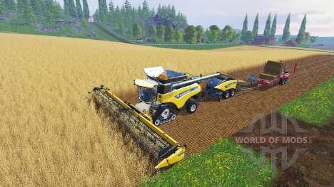 New Holland CR10.90 [multi camera] para Farming Simulator 2015