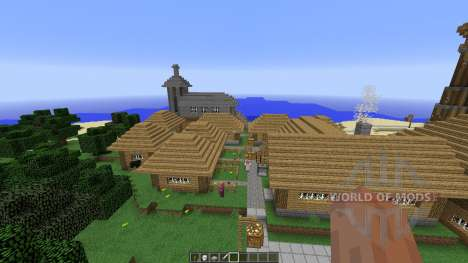 Sziget para Minecraft