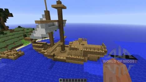 Survival Island plus para Minecraft