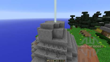 Floating Island Creative Map para Minecraft