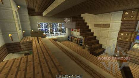 Modern Mansion xHollandia para Minecraft