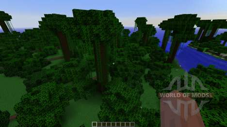 Tropical island para Minecraft