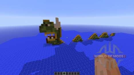 Sea snake island para Minecraft