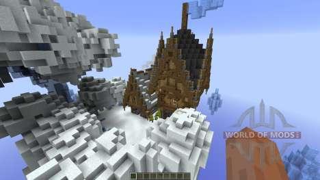 Nacreous Ice Island Concept para Minecraft