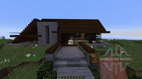 Iris a concept home para Minecraft