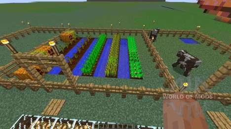 Charlotte Demons pepper farm para Minecraft