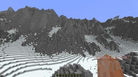 Glacier Valley para Minecraft
