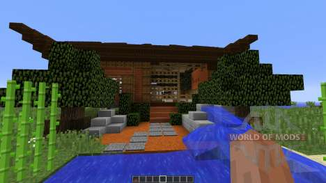 Asian Style Home para Minecraft