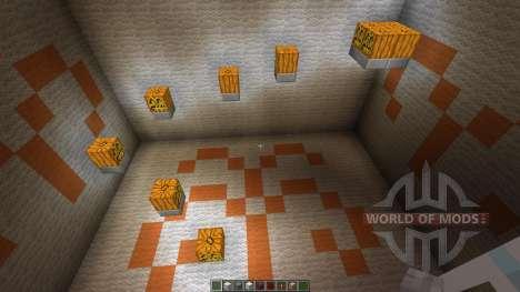 11 seconds Parkour Map para Minecraft
