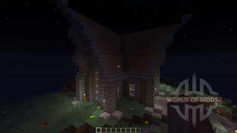Medevial house para Minecraft