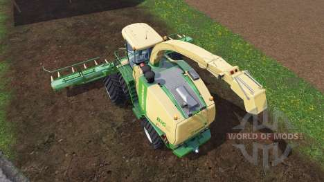 Krone Big X 1100 [twin fronts wheels 2] para Farming Simulator 2015
