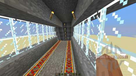 Command Block Minecart Station para Minecraft