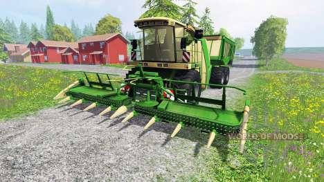 Krone Big X 650 Cargo v4.3 para Farming Simulator 2015