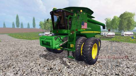 John Deere 9770 STS [USA special edition] para Farming Simulator 2015