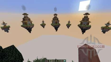 Map Castle Minecraft Skywars para Minecraft