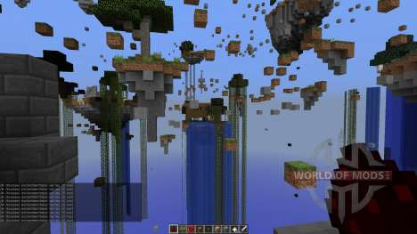 Skylands Parkour para Minecraft