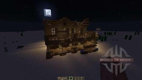 Western Saloon para Minecraft
