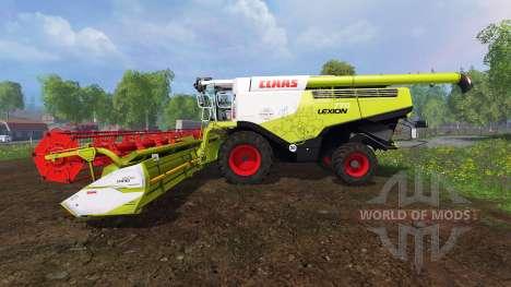 CLAAS Lexion 770 [washable] v2.0 para Farming Simulator 2015