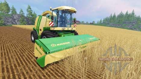 Krone Big X 1100 [100.000 capacity] para Farming Simulator 2015
