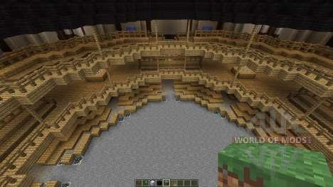 Shakespeares Globe Theatre in London para Minecraft