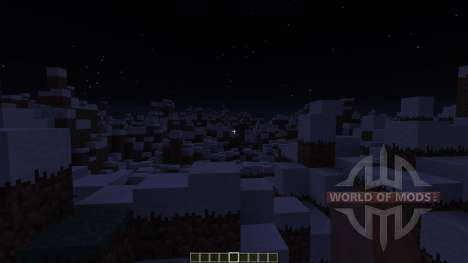 Snowy Mountain range para Minecraft