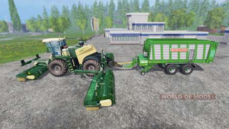 Krone Big M 500 [attach] v2.0 para Farming Simulator 2015